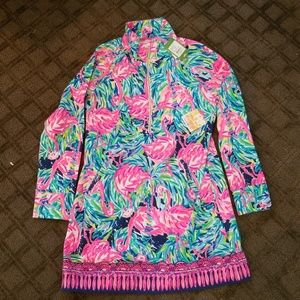 Flamenco Beach Popover Dress NWT Lilly Pulitzer